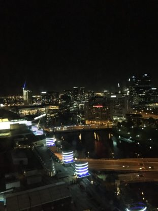 Melbourne, night view