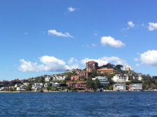 A great view of Sydney's luxury harborside and harbor view homes
