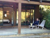 Huka Lodge, relaxing