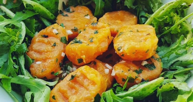 Gnocchis maison à la patate douce