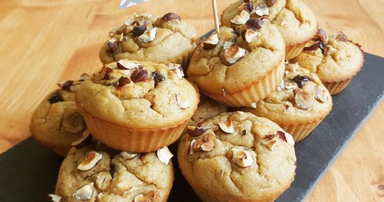 Muffins à la châtaigne cœur chocolat