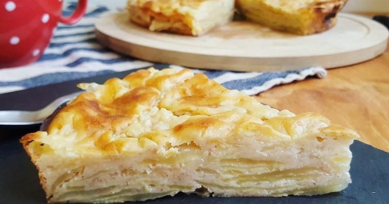 Gâteau invisible aux pommes & poires