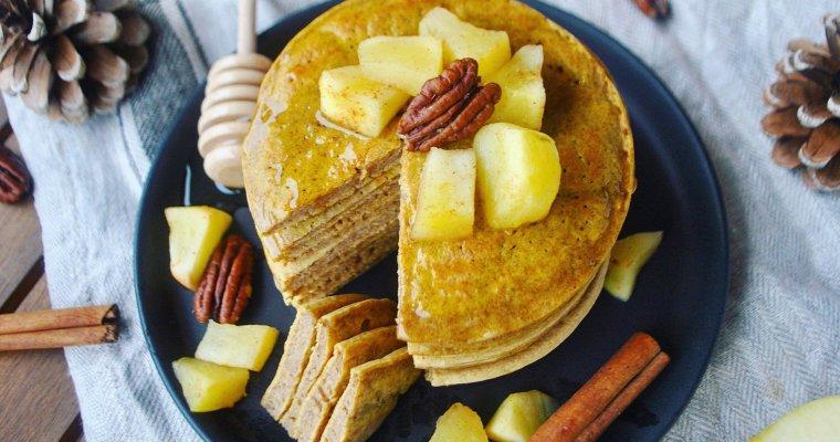 Pancakes au potimarron et à la cannelle