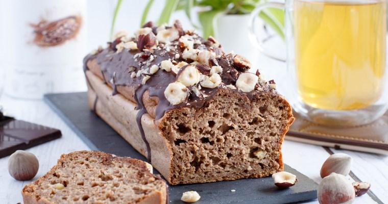 Banana Bread (cake à la banane) choco-noisette