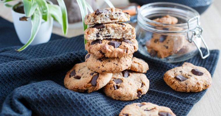 Cookies à l'amande et au chocolat (vegan, sans gluten)