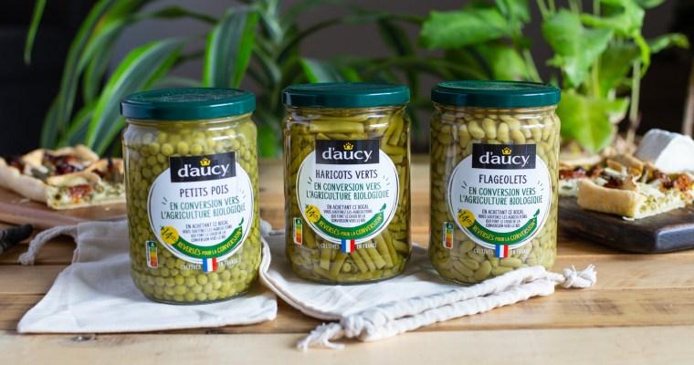 Les légumes en conversion vers le bio de chez d'aucy, la démarche à soutenir !