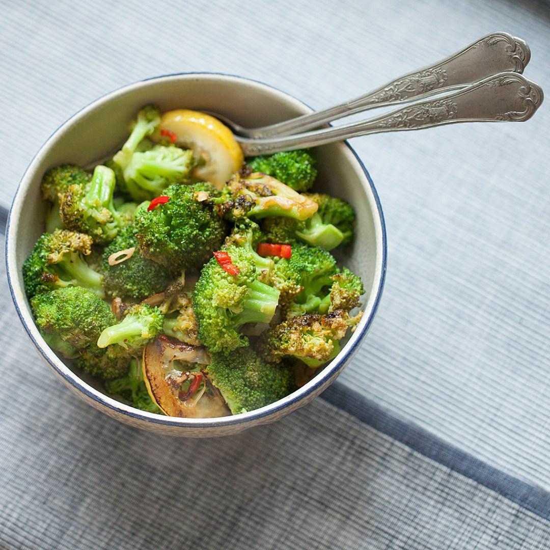 Pittige broccoli