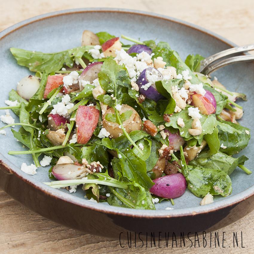 Salade radijsjes