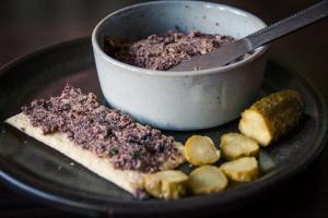 pâté végane aux olives cuisine végane pour débutant recette vegan facile