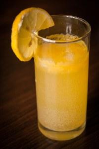 soda orange gingembre