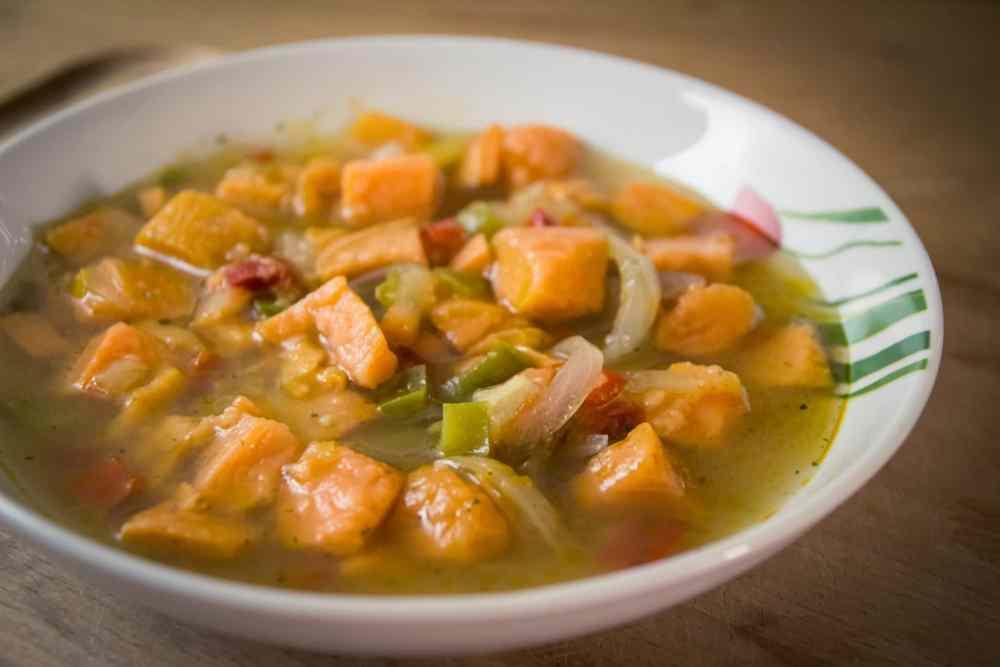 soupe de patate douce
