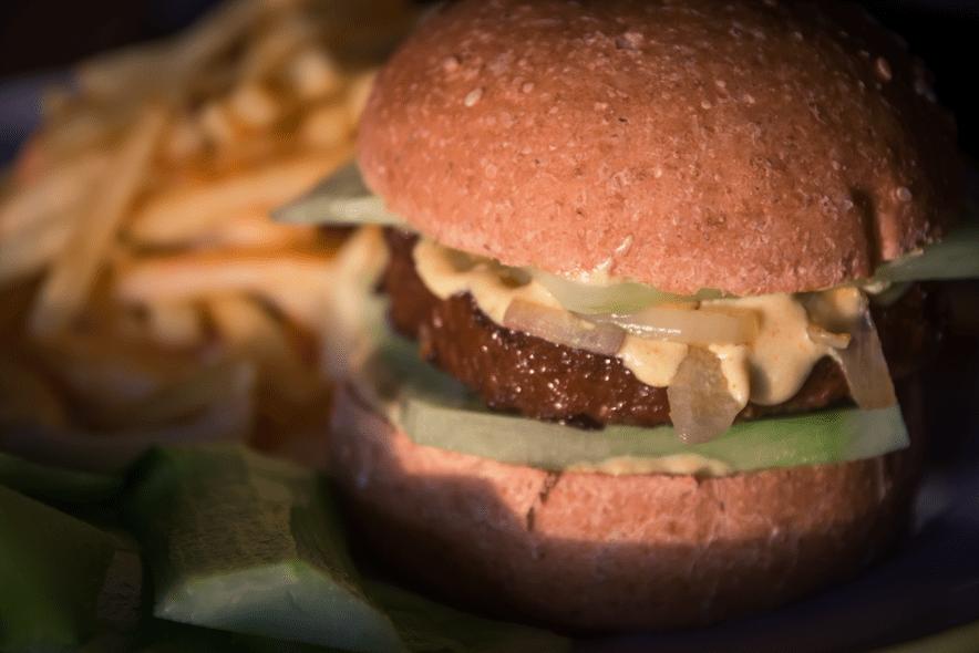 sauce burger vegan