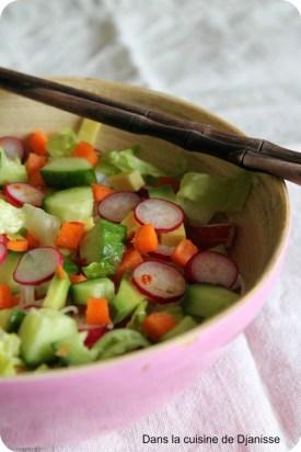 Salade rouleau de printemps
