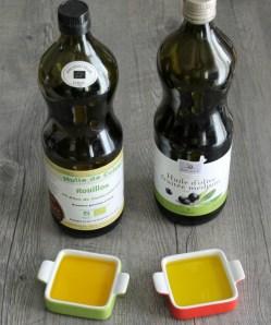 Huile de colza et olive, bio