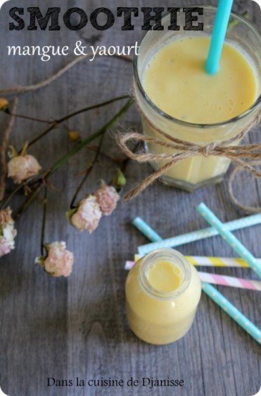 smoothie mangue & yaourt