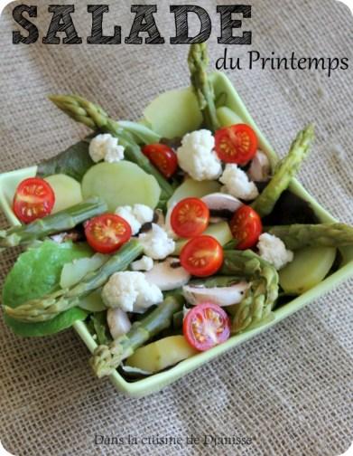 Salade du Printemps