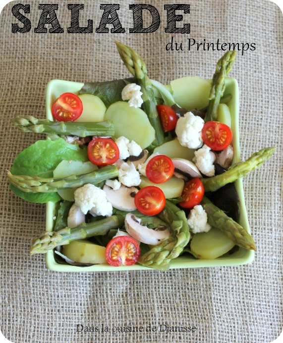 salade du printemps recette v g talienne ig bas. Black Bedroom Furniture Sets. Home Design Ideas