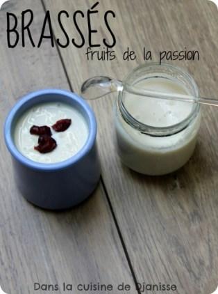 Brassés vegan fruits de la passion
