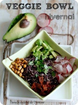 Veggie bowl d'inspiration asiatique