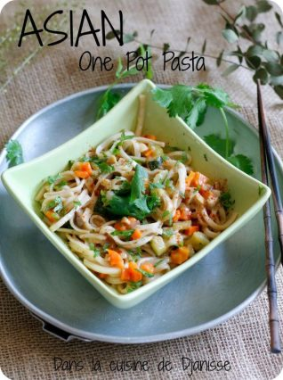 Asian one pot pasta