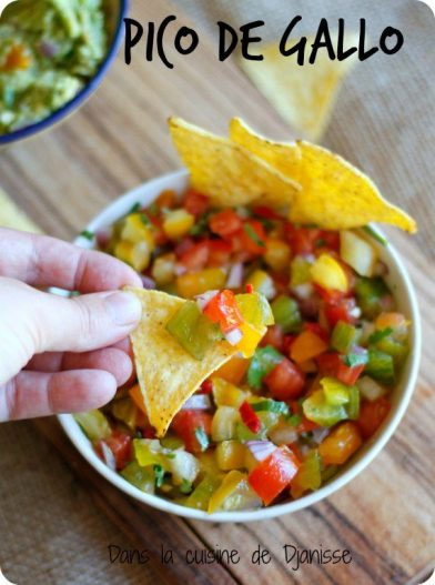 Vegan pico de gallo