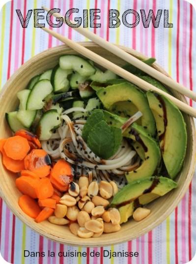 veggie bowl au ramen