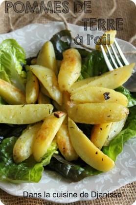 pommes de terre à l'ail