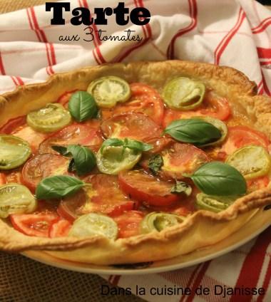 Tarte aux 3 tomates