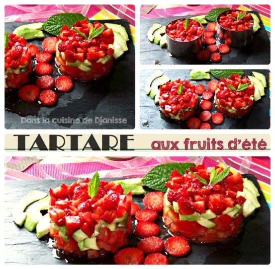 Tartare aux fruits d'été