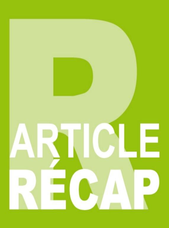 article recap accueil