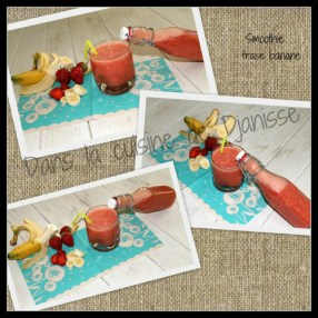 smoothie fraises bananes