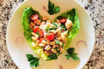 Cannellini bean tuna salad