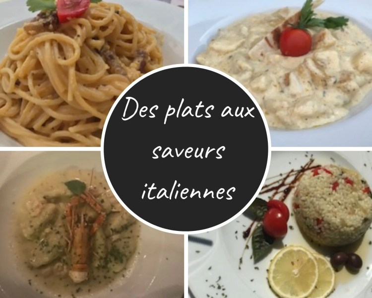 plats aux saveurs italiennes