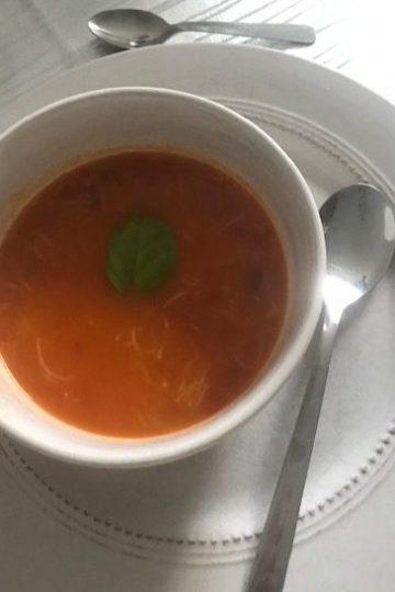 Soupe tomates vermicelles
