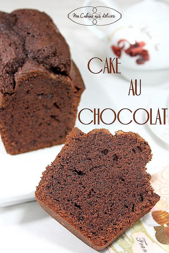 Cake au chocolat moelleux sans beurre | Recettes faciles ...