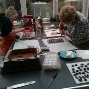 pralines, chocolaterie