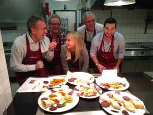 Teambuilding cooking contest Equensworldine Brussels