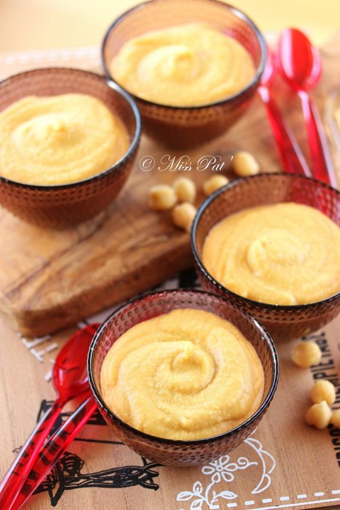 Crème miso blanc et pois-chiche 1 misspat
