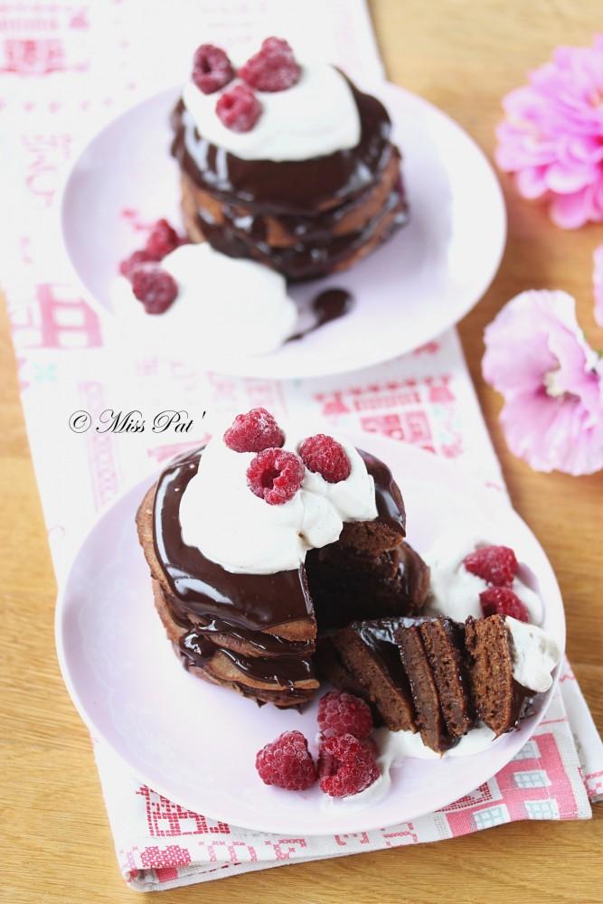Gâteaux de pancakes au chocolat misspat1