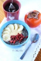 Porridge sarrasin et kaki misspat
