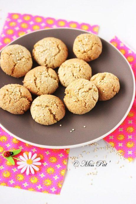 Macarons quinoa et amande misspat
