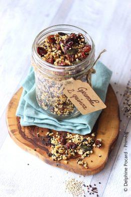 Granola 2 quinoa 2 Priméal