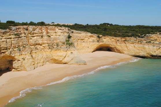 Praia Da Marinha, Carvoiro, Portugal