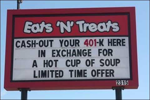 Il tuo fondo pensione per una zuppa