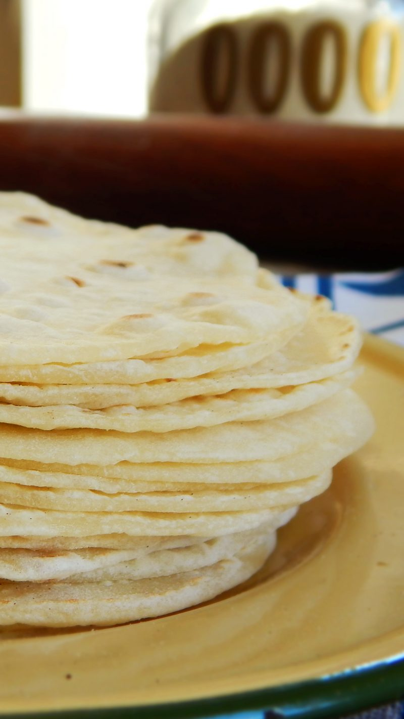 tortillas mexicanas tacos masa fajitas caseras rapiditas