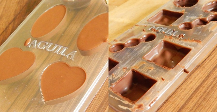 bombones chocolate rellenos aguila