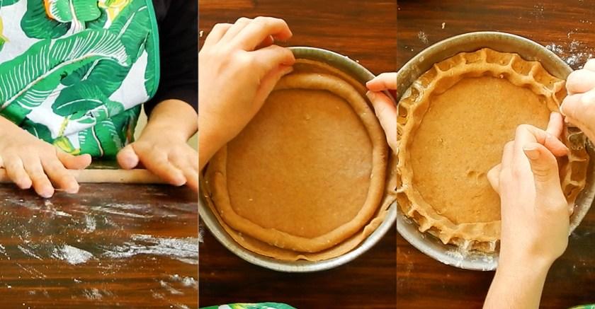 cassate di ricotta tarta pascua