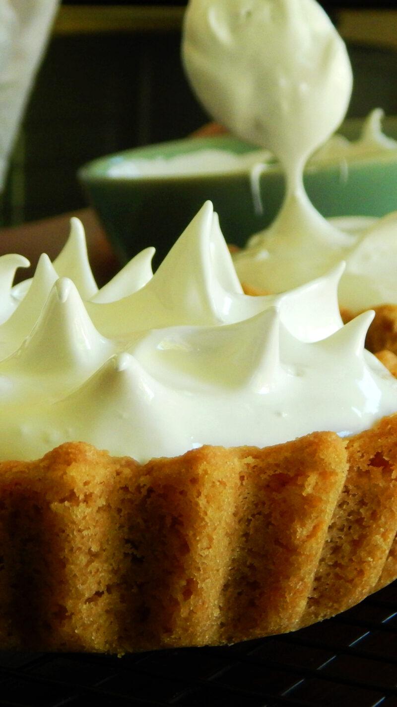 lemon pie con lemon curd merengue