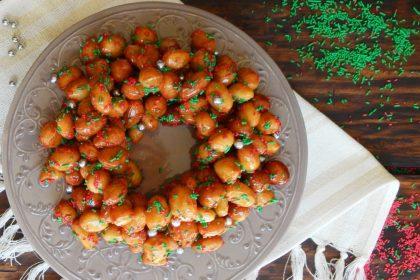 struffoli pignolata italia navidad dulce