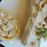 pionono queso zul nueces queso crema